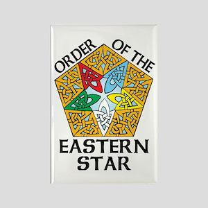 Eastern Star Celtic Knot Rectangle Magnet