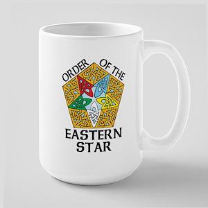 Eastern Star Celtic Knot Large Mug