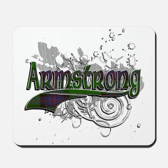 Armstrong Tartan Grunge Mousepad