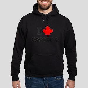 I Leaf Canada Hoodie (dark)