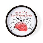 Law Student Wall Clock