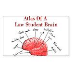 Law Student Sticker (Rectangle 10 pk)