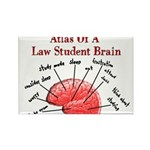 Law Student Rectangle Magnet
