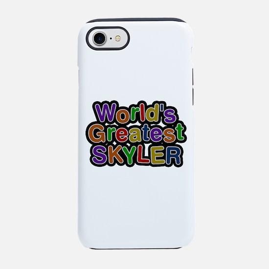 World's Greatest Skyler iPhone 7 Tough Case