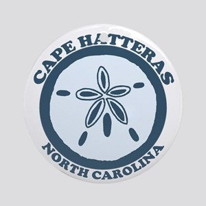 Cape Hatteras NC - Sand Dollar Design Ornament (Ro