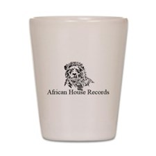 African House Records Shot Glass