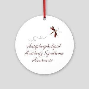 APS Awareness Ornament (Round)