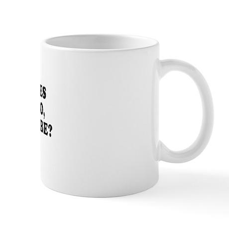I'm addicted to yes ~ Mug