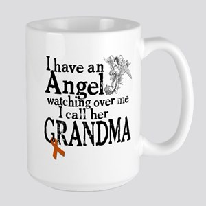 Leukemia Grandma Angel Large Mug