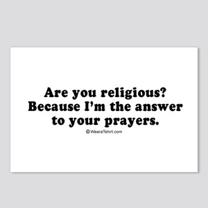 I'm the answer to your prayers -  Postcards (Packa