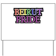 Beirut Pride Yard Sign