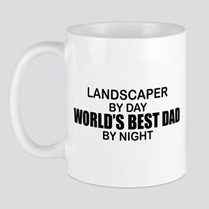 World's Best Dad - Landscaper Mug