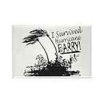 I Survived Hurricane Barry Magnets