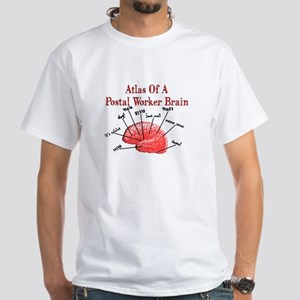 Postal Worker III White T-Shirt