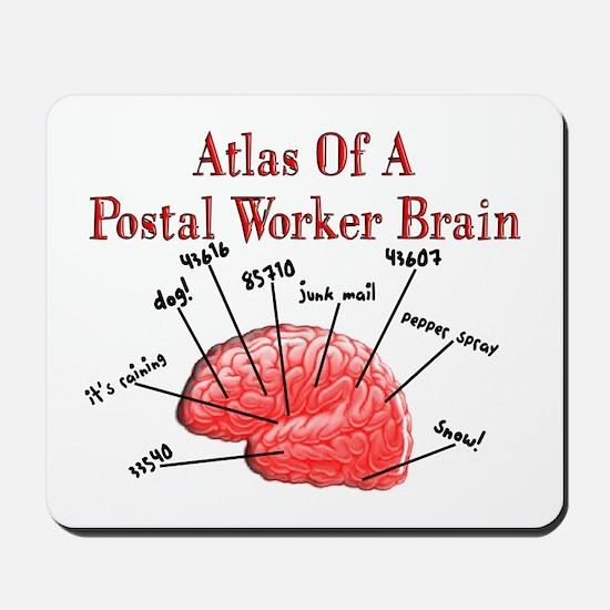 Postal Worker III Mousepad