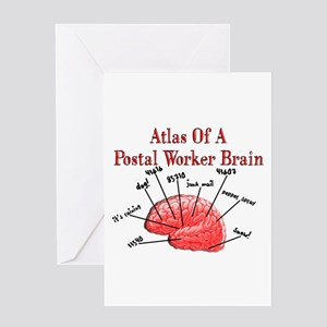 Postal Worker III Greeting Card