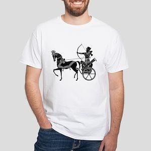 King & Warrior White T-Shirt