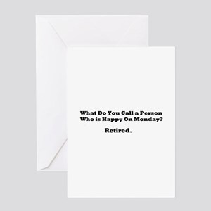 Retired Happy Greeting Cards