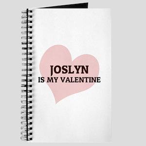 Joslyn Is My Valentine Journal