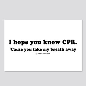 I hope you know CPR -  Postcards (Package of 8)