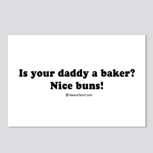 Is you daddy a baker? Nice buns. -  Postcards (Pac