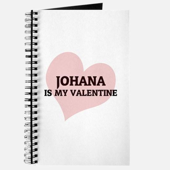 Johana Is My Valentine Journal