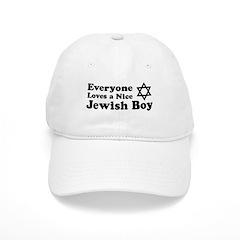 Everyone Loves a Nice Jewish Boy Baseball Cap
