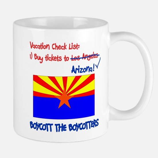 Arizona-Boycott the Boycotter Mug