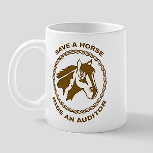 Ride An Auditor Mug