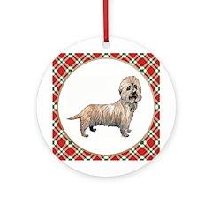 Dandy Dinmont Ornament (Round)