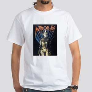$19.99 Metropolis 1 White T-Shirt