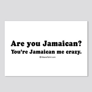 You're Jamaican me crazy -  Postcards (Package of