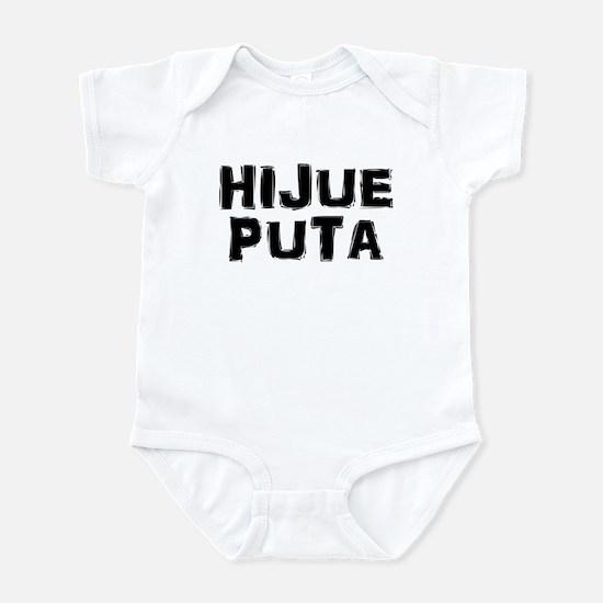Hijue puta Infant Bodysuit