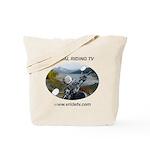 Handlebar view logo Tote Bag