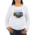 Handlebar view logo Women's Long Sleeve T-Shirt