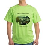 Handlebar view logo Green T-Shirt