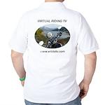 Handlebar view logo Golf Shirt