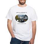Handlebar view logo White T-Shirt