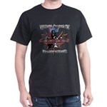 Virtual Riding TV maple leaf Dark T-Shirt