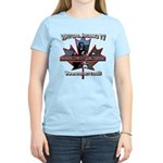 Virtual Riding TV maple leaf Women's Light T-Shirt