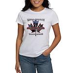 Virtual Riding TV maple leaf Women's T-Shirt