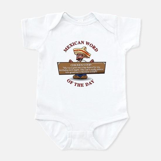 CHICKEN STRIP Infant Bodysuit