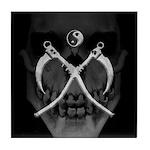 Scythes Skull Tile Coaster