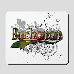 Buchanan Tartan Grunge Mousepad