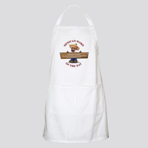 WOODEN CHAIR Apron