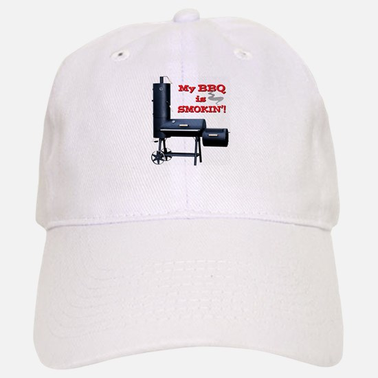 My BBQ is Smokin'! Baseball Baseball Cap
