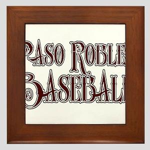 PASO ROBLES BASEBALL *15* Framed Tile