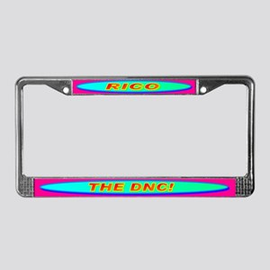 RICO THE DNC! License Plate Frame