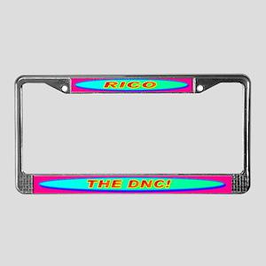 RICO THE DNC! License Plate Frame
