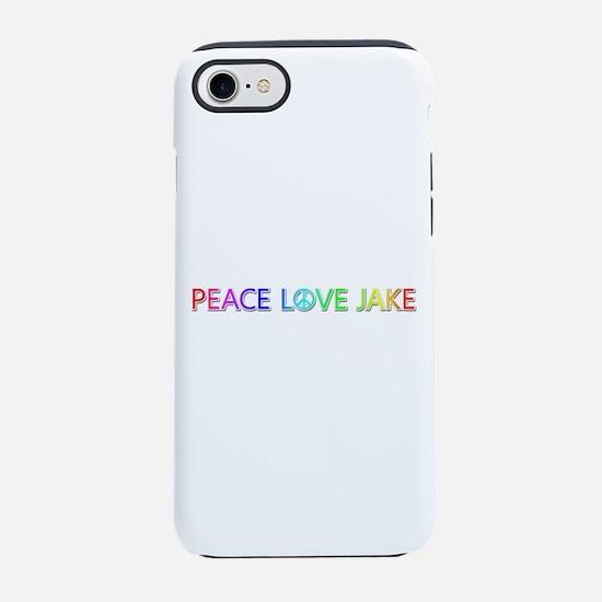 Peace Love Jake iPhone 7 Tough Case